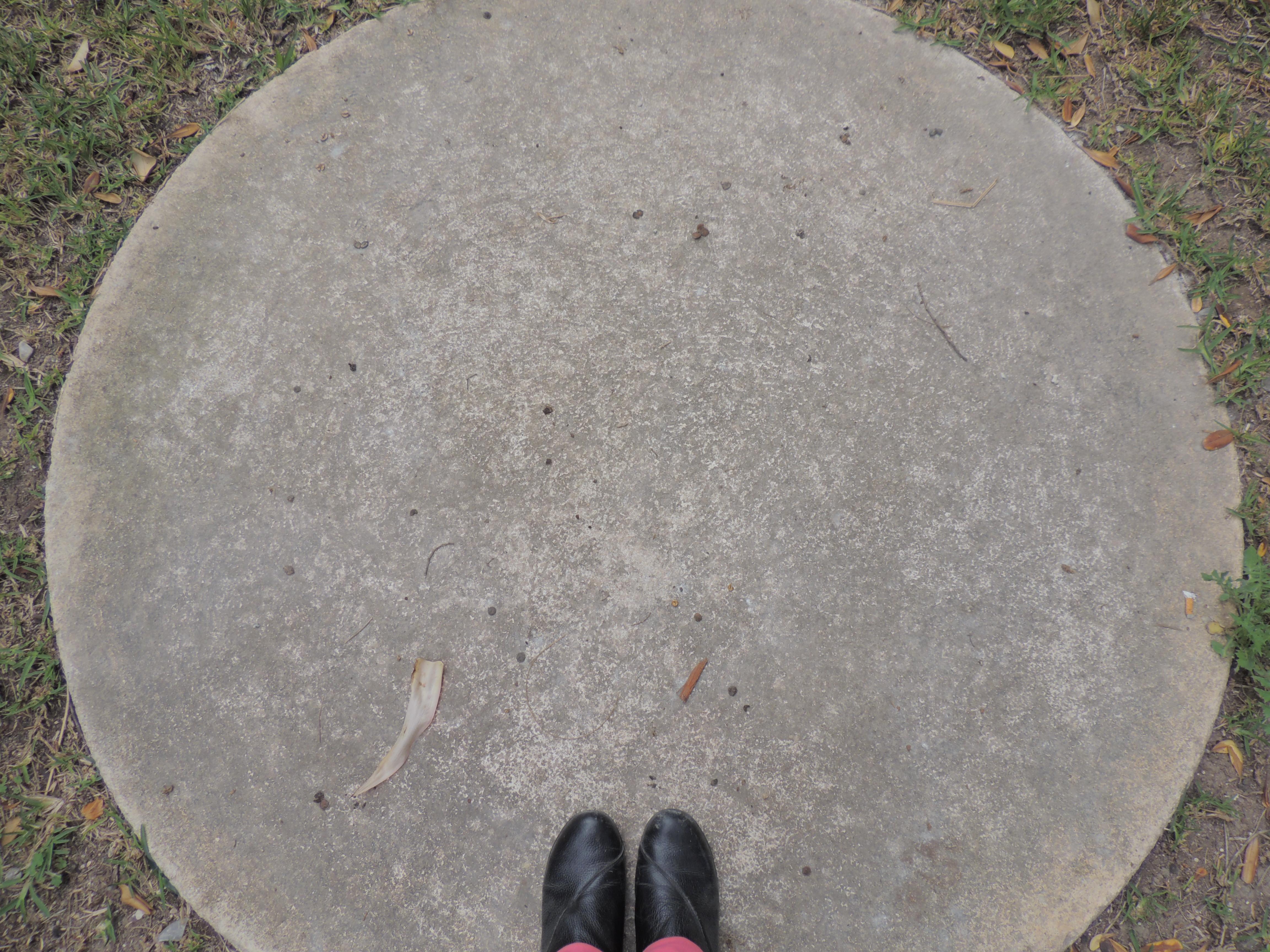 Con los pies en la luna..