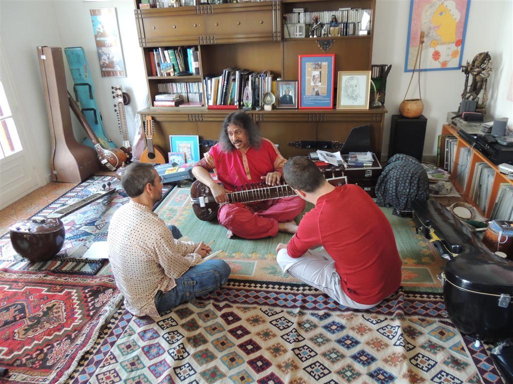 Clases de sitar