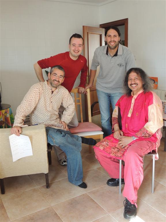 Los cuatro sitaristas valientes