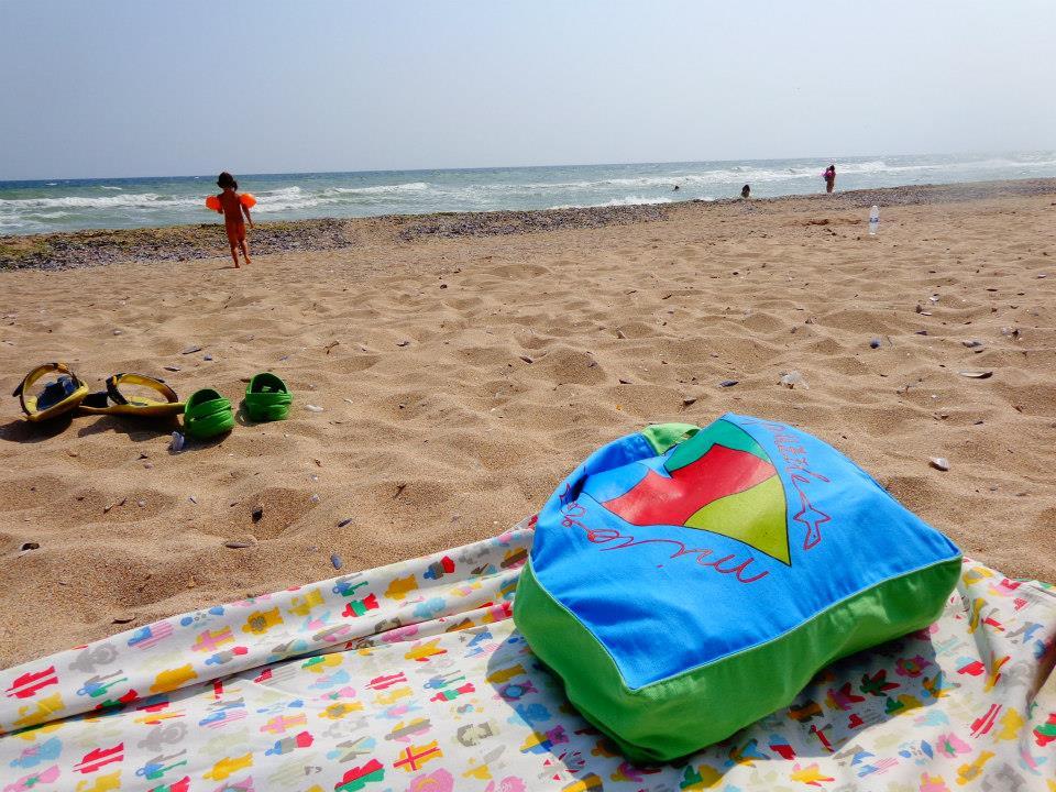 En la playa de Bulgaria